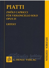 12 Capricci for Violoncello solo op.25