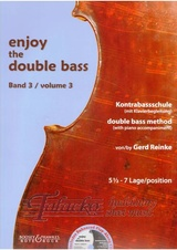 Enjoy the Double Bass Volume 3 + CD