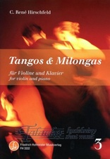 Tangos & Milongas for violin and piano