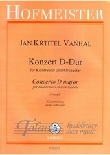 Concerto D major for double bass and orchestra