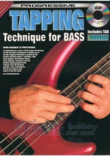 Progressive Tapping Technique for Bass + CD