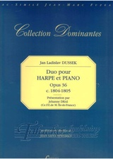 Duo for harp and piano op. 36, c. 1804-1805