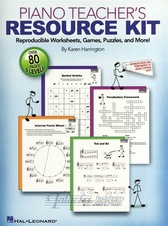 Piano Teacher's Resource Kit
