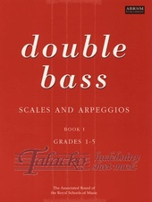 Double Bass Scales and Arpeggios book 1, Gr. 1-5