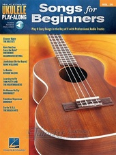 Ukulele Play-Along Volume 35: Songs For Beginners (Book/Online Audio)
