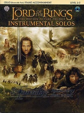 Lord Of The Rings: Instrumental Solos: Cello + CD