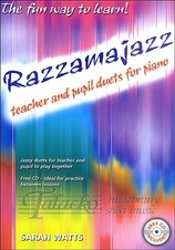 Razzamajazz Piano Duets + CD
