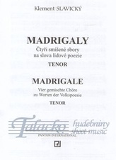 Madrigaly - part pro tenor