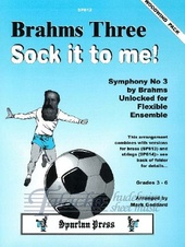 Brahms Three, Sock it to me! (woodwind pack)