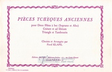 Pieces tcheques anciennes