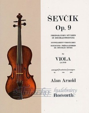 Preparatory Studies In Double-Stopping Op.9 (Viola)