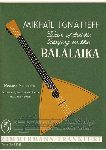 Tutor of artistic playing on the balalaika