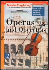 Operas and Operettas 2 for Violin, CD-ROM