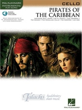 Pirates Of The Caribbean (Cello) (Book/Online Audio)