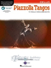 Astor Piazzolla: Tangos - Cello (Book/Online Audio)