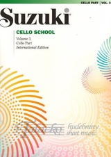 Suzuki Cello School: Cello Part Volume 3 Revised Edition