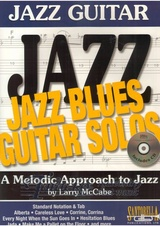 Jazz Guitar: Jazz Blues Guitar Solos with CD