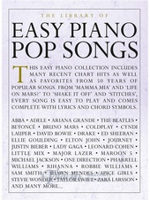 Library of Easy Piano Pop Songs
