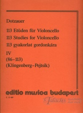 113 Studies for Violoncello 4 (no. 86-113)