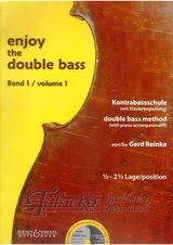 Enjoy the Double Bass Volume 1 + CD
