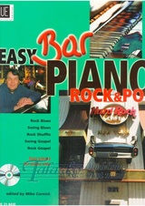 Easy Bar Piano - Rock & Popp + CD
