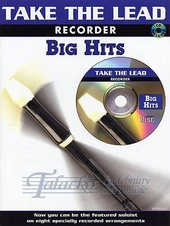 Take the Lead: Big Hits - Recorder + CD