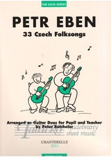 33 Czech Folksongs (Teacher' Score)
