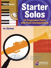 Starter Solos for Clarinet + CD