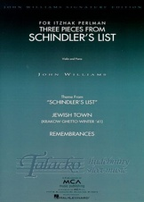 Three Pieces From Schindler's List (Violin/Piano)