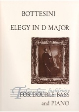 Elegy in D Major for Double Bass and Piano