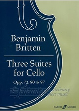 Three Suites for cello op. 72, 80, 87
