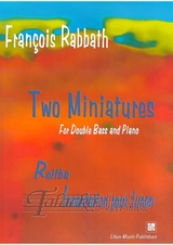 Two Miniatures for Double Bass and Piano