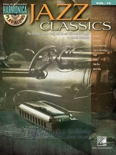 Harmonica Play-Along Volume 15: Jazz Classics + CD