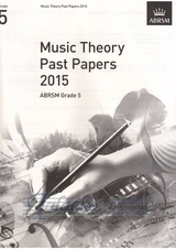 Music Theory Past Papers 2015, ABRSM Grade 5