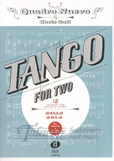 Tango for Two: 12 Tangos for Cello and Piano (Cello Solo) + CD