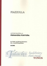 Primavera Portena for Violin and String Orchestra, VP