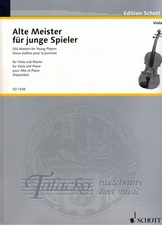 Old Masters for young Players (viola)