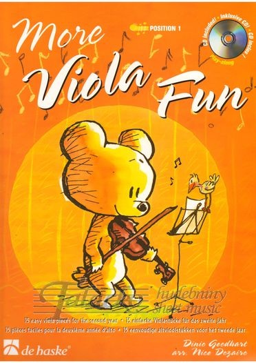 More Viola Fun + CD