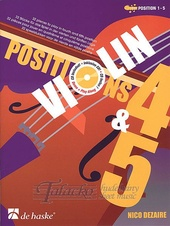 Violin Positions 4 & 5 + CD