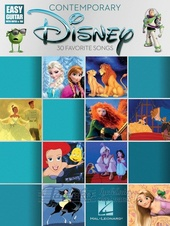 Contemporary Disney: Easy Guitar With Notes And Tab