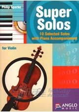 Super Solos for Violin + CD