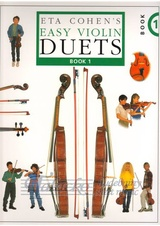 Eta Cohen: Easy Violin Duets - Book 1