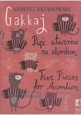 Gakkaj - Five Pieces for Accordion