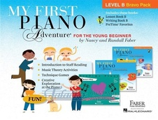 My First Piano Adventure - Level B Bravo Pack