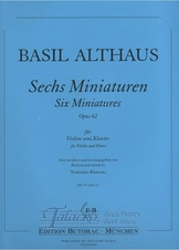 Six Miniatures op. 62