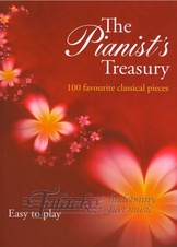 Pianist's Treasury - easy book (červená)