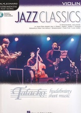 Hal Leonard Instrumental Play-Along: Jazz Classics (Violin)