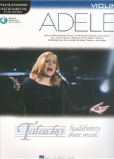 Hal Leonard Instrumental Play-Along: Adele - Violin (Book/Online Audie)