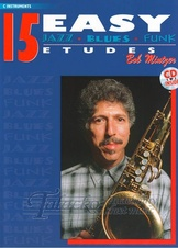 15 Easy Jazz Etudes - C Instruments + CD
