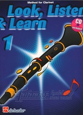 Look, Listen & Learn 1 - Clarinet + CD